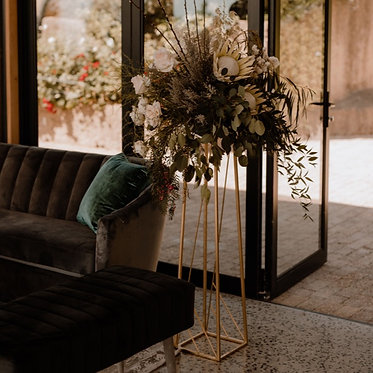 Contemporary Flower Stand