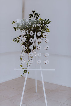 Perspex Donut Wall & Easel