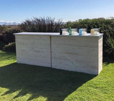 Wood & White Module Bar 1.5m