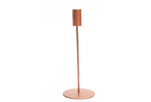 Modern Candlestick Lrg - Copper