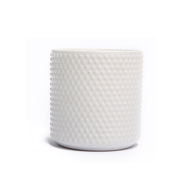 Dotted White Ceramic