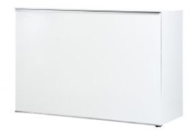 White Gloss Mobile Bar