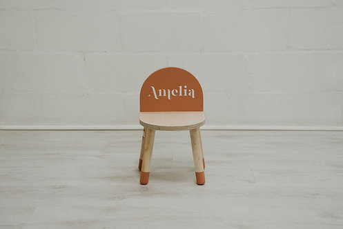 Custom Name Chair