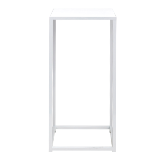 Square Cocktail Table - White