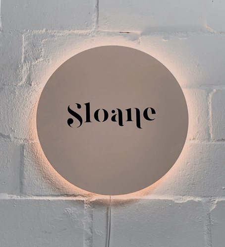 Name Wall Lamp