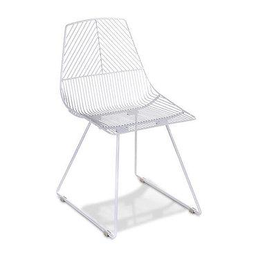 White Griffin Chair