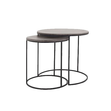Round Nesting Side Tables