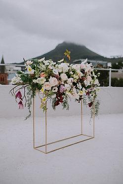 Rectangular Flower Stand
