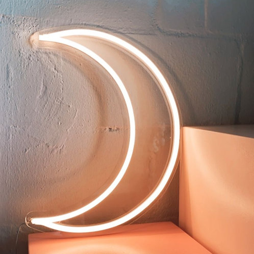 Moon LED Neon Sign