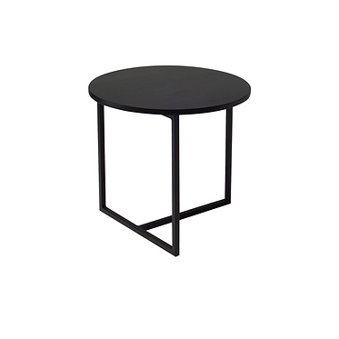 Round Side Table Right Angle