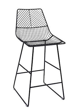 Griffon Bar Stool - Black