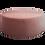 Thumbnail: Large Round Ottoman - Pink