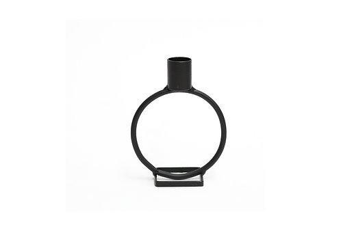 Black Circle Candlestick