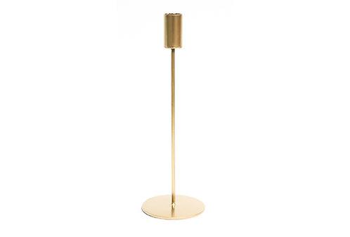 Modern Candlestick Lrg - Gold
