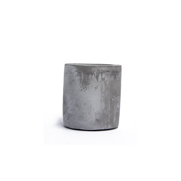 Cement Candle Holder Sml