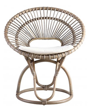 Fan Back Woven Chair