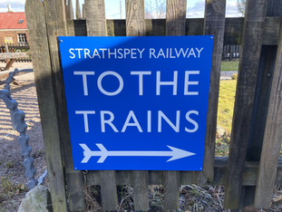 To the trains