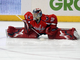 Capitals shut out for first time this season