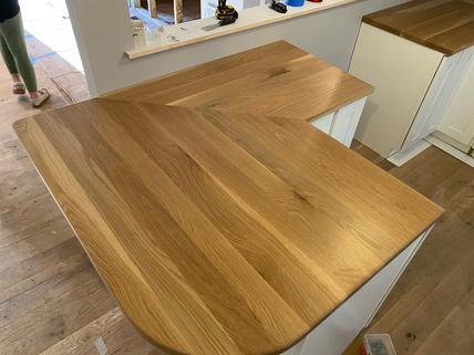 Oak Kitchen Counter Tops