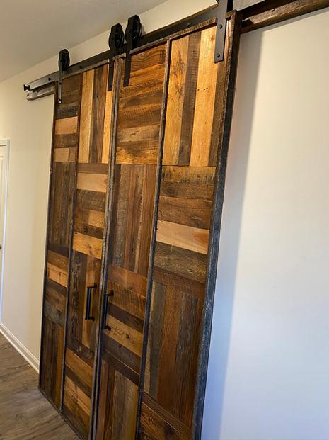 Custom design barn door