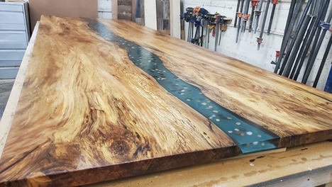 Custom River Table