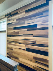 Reclaimed Poplar Accent Wall