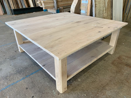 Custom Oak Coffee Table