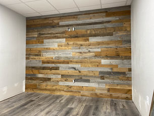 Reclaimed Barnwood Accent Wall