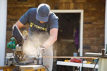 Wood worker carpenter