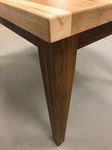 Custom Maple and Walnut Table