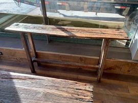 Reclaimed Sofa Table