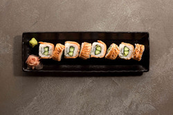 Aburi Salmon Roll
