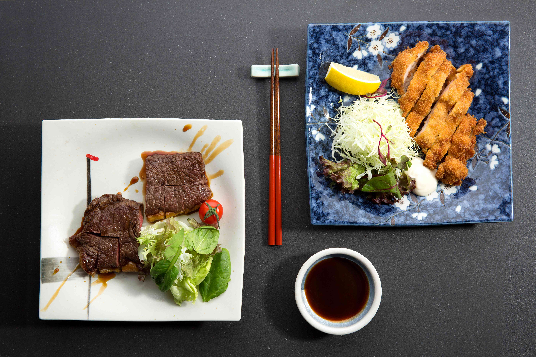 Steak & Chicken Katsu