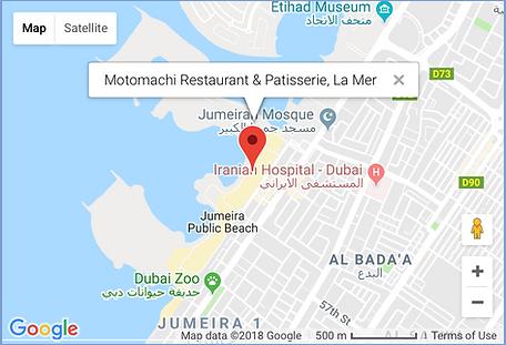 Motomachi La Mer Dubai