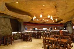 Restaurant interior theming