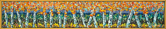 Autumn Birch Trees - 057ST20