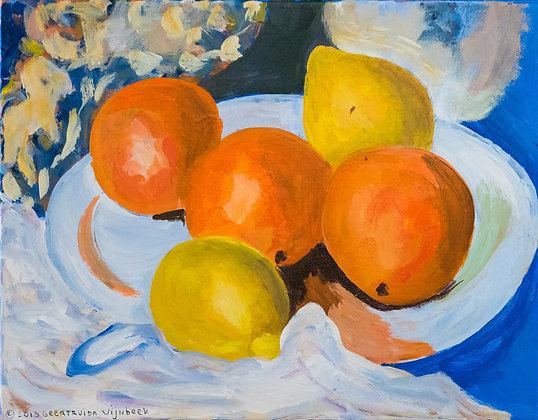 Cezanne with Oranges - 020GW20
