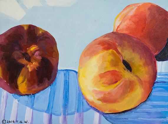 3 Juicy Peaches - 021GW20