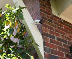 House eve camera installation