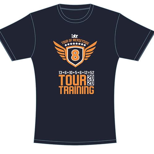 Tour Training T-Shirt 2020 Navy UNISEX