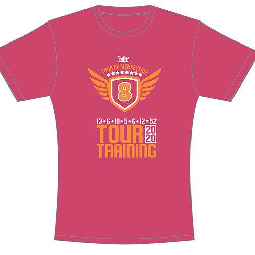 Tour Training T-Shirt 2020 Pink UNISEX