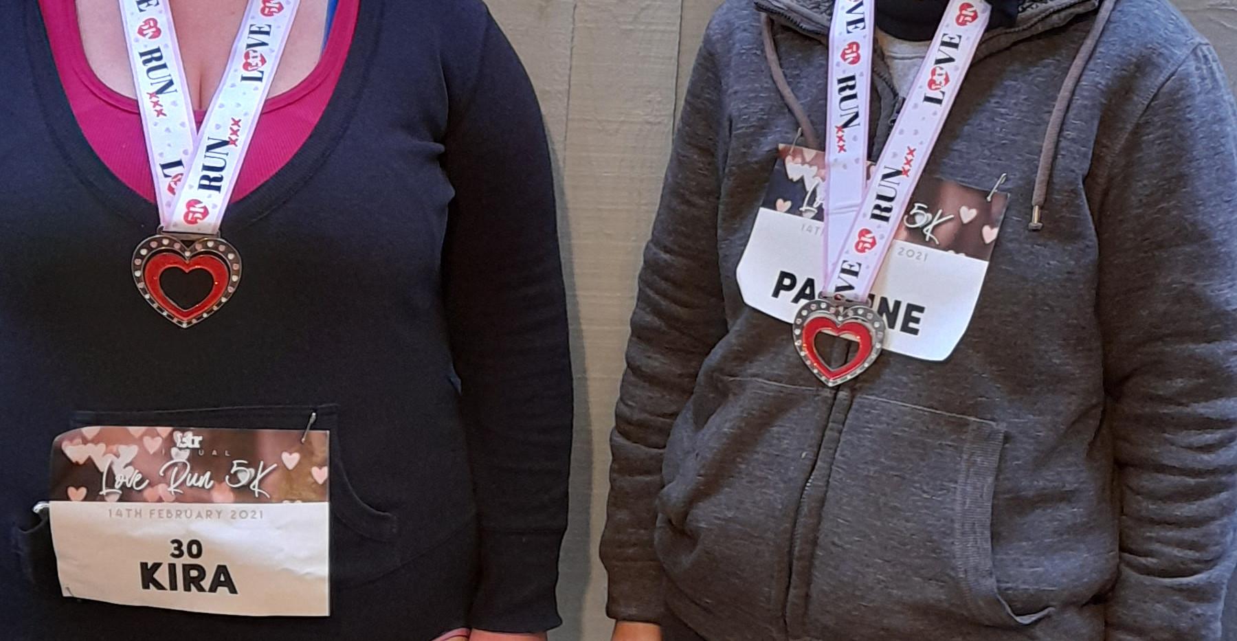 Pauline & Kira
