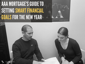 Financial Goal setting in the New Year