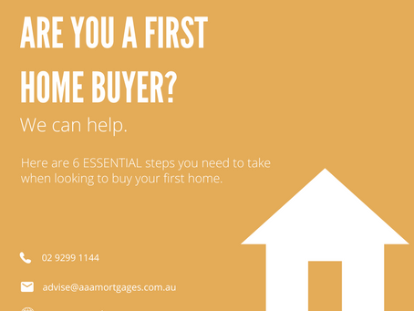 6 Essential Steps for First Home Buyers
