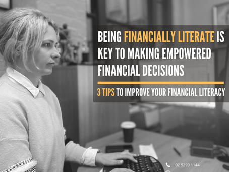 3 Ways to Improve Your Financial Literacy