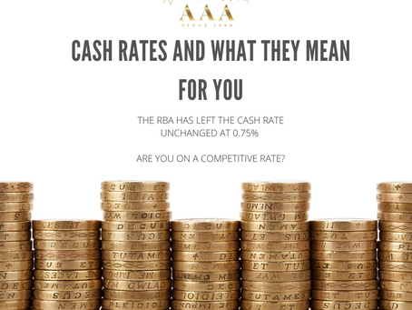 Cash Rates and Lower Repayments