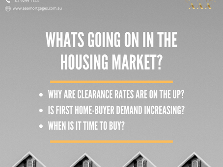 Whats going on in the housing market?