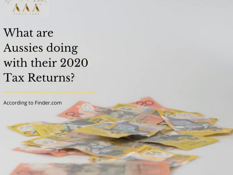 What are Aussies doing with their tax returns?