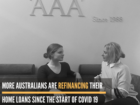 More Australians are Refinancing in Covid19