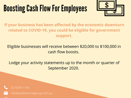 Boosting Cash Flow for Employees